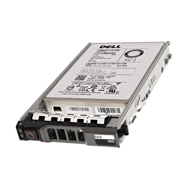JR1HP: Dell 3.84 TB SSD SAS 2.5 inch 12G Read Intensive MZILS3T8HMLH0D3