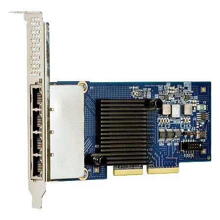 Lenovo Part Number: 49Y4240 - For System x - Intel Ethernet Quad Port Server Adapter I340-T4